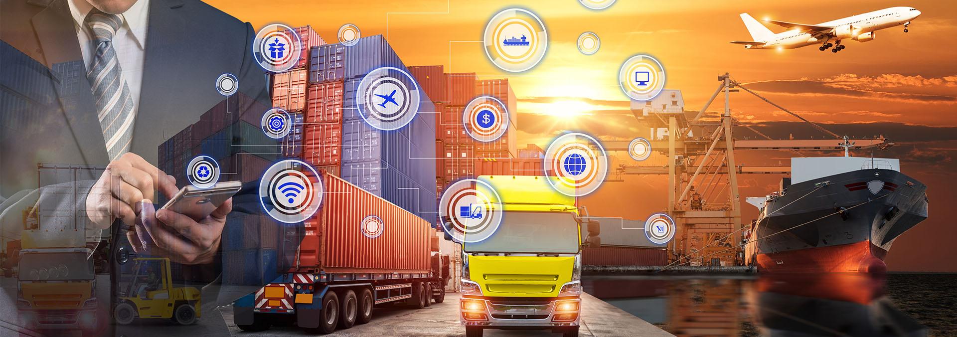 снимка описваща какво е транспорт и бизнес логистика