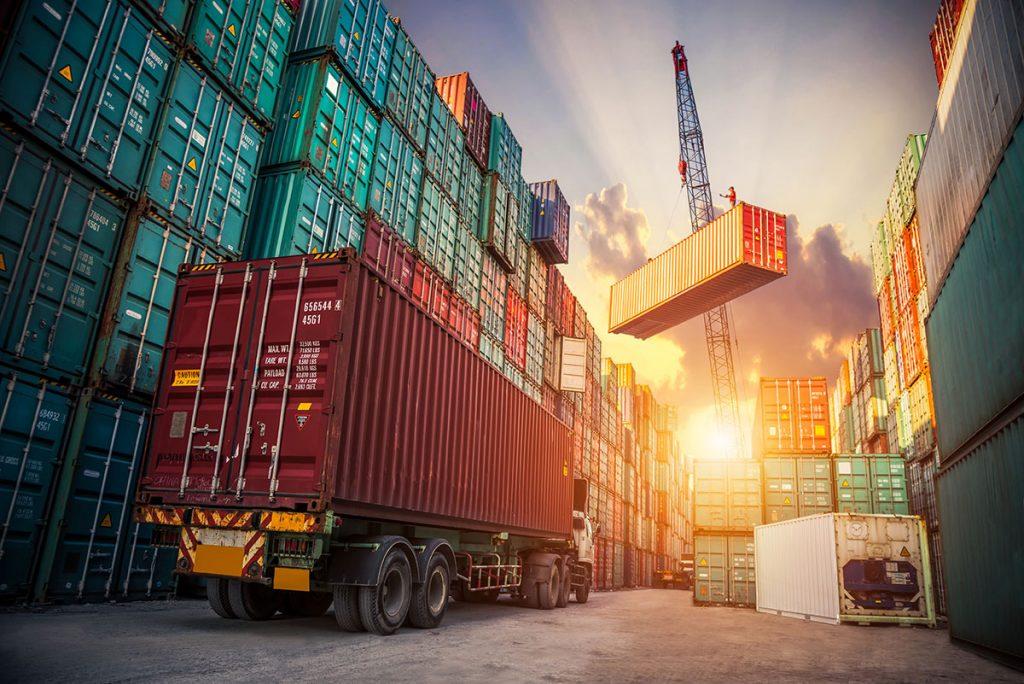 транспортиране на стоки с контейнери от бЕРС