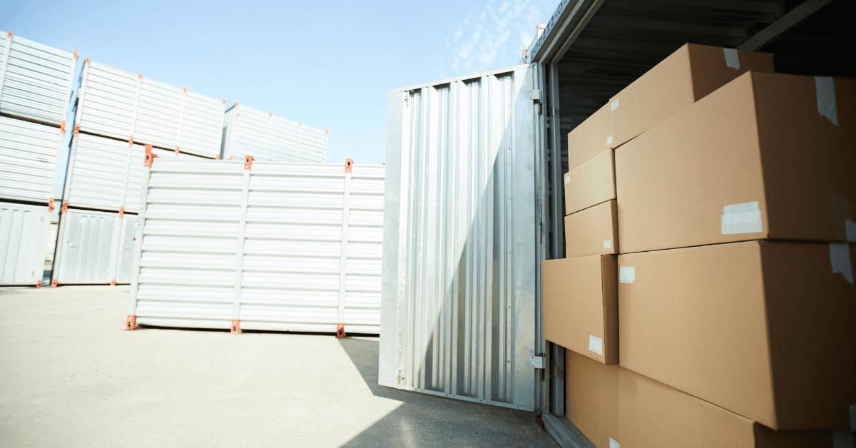 Отворен контейнер с групажни пратки